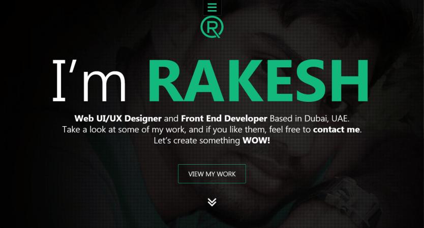 UI Designer | Rakesh