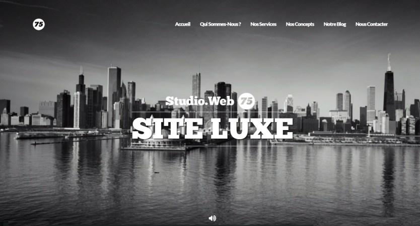 Studio Web 75 - Site de luxe