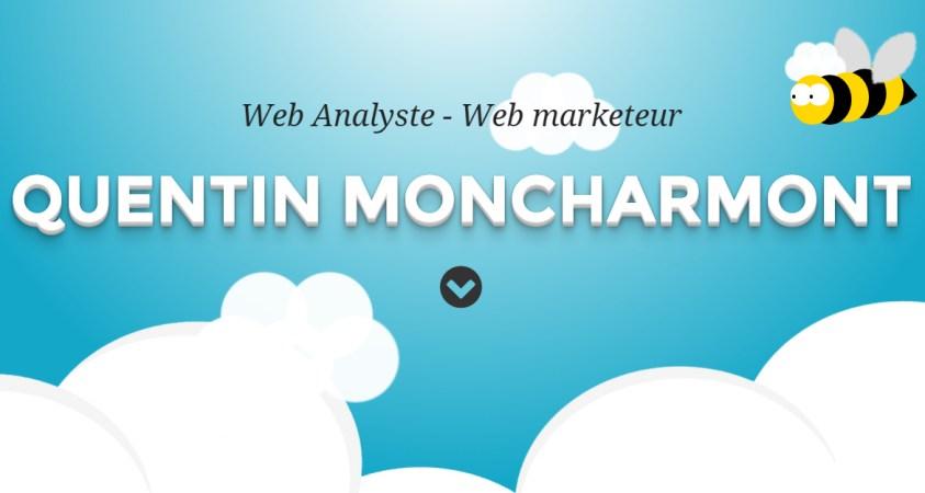 Quentin Moncharmont web analytics