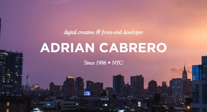 Adrian Cabrero