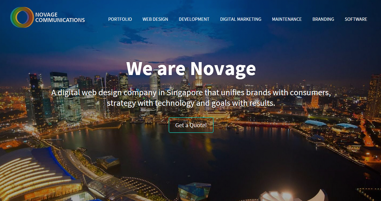 Web Design Firm in Singapore