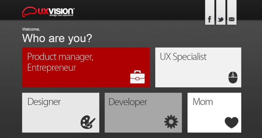 UXVision™ | Strategic User Experience