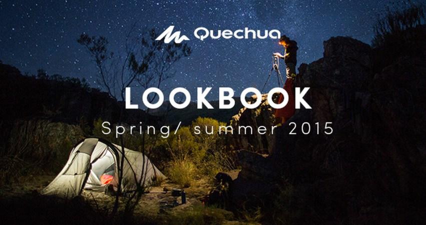 Quechua Lookbook Spring / Summer 15