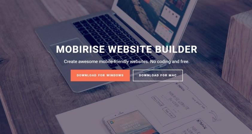 Mobirise Mobile Website Builder