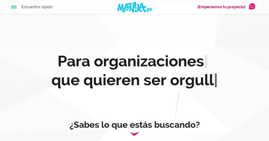 Manya.pe - Digital Marketing Agency