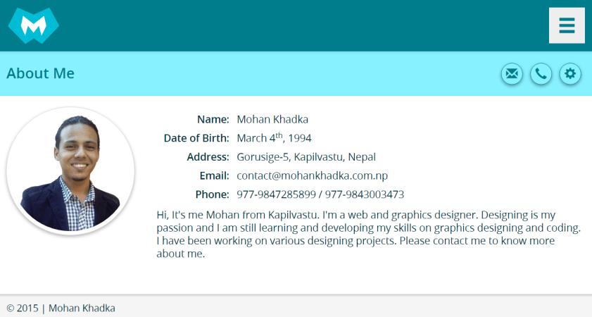 Web-Designer from Nepal