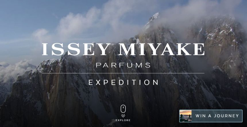 GQ & Issey Miyake Expedition