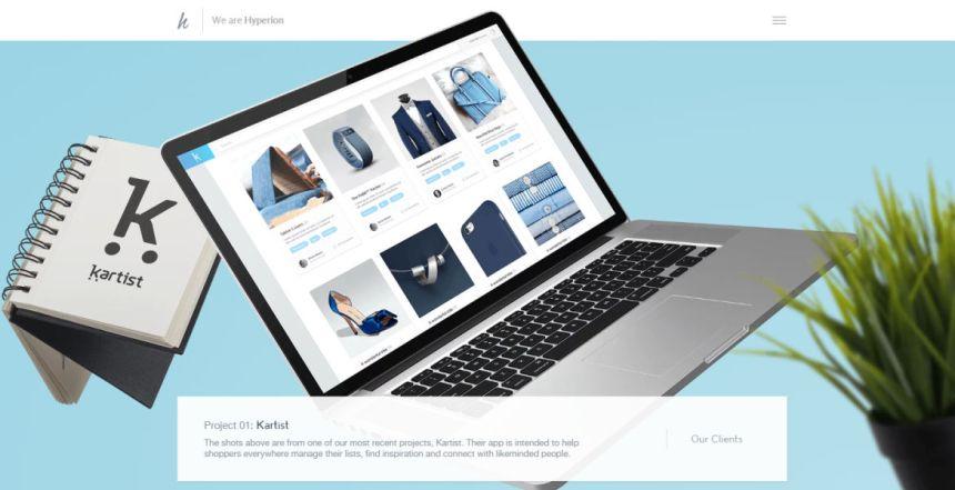 Hyperion Agency Website