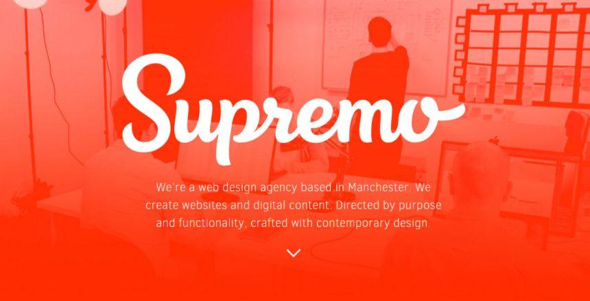 Supremo - Web Design Manchester