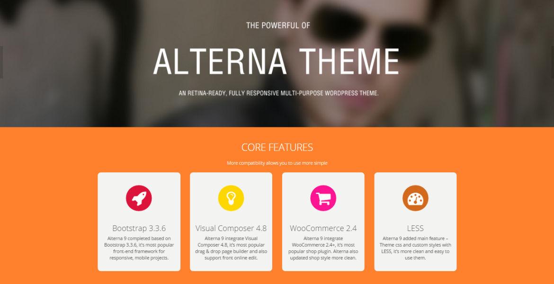 Alterna - Ultra Multi-Purpose WordPress Theme
