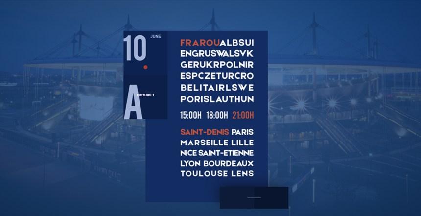 Euro 2016 Calendar