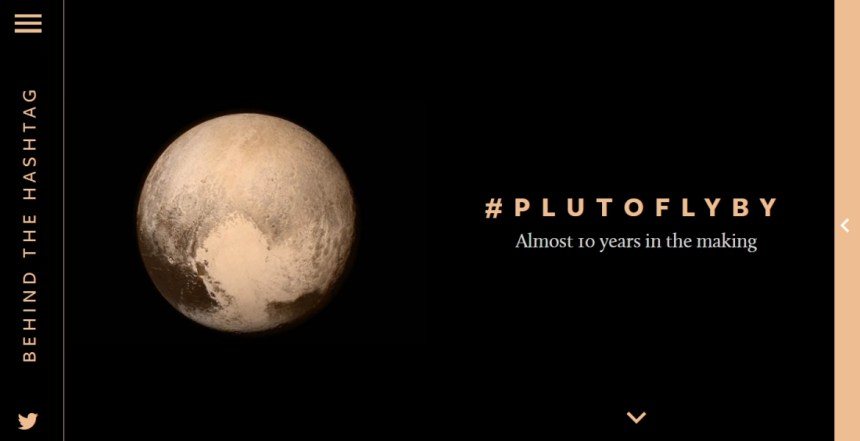 Behind The Hashtag #PlutoFlyBy