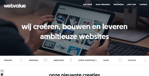 webvalue-website-homepage