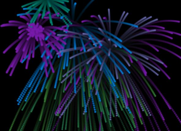 Fireworks Canvas Animation