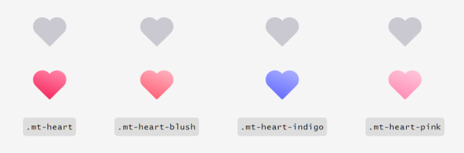 MoreToggles.css Heart Switches
