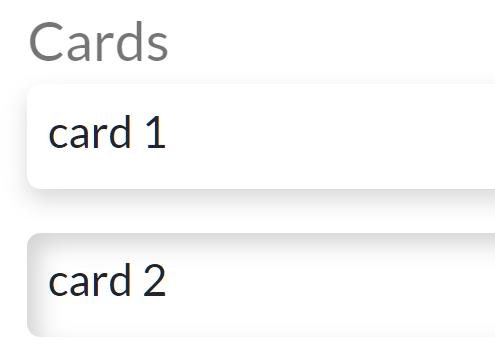 NenmorphismCSS Cards