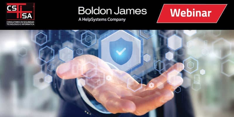 Webinar Boldon James