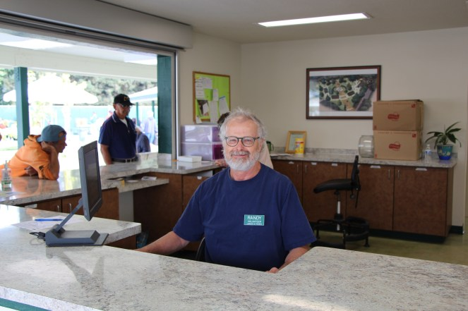 Randy, Friendship Park and Dining Room volunteer