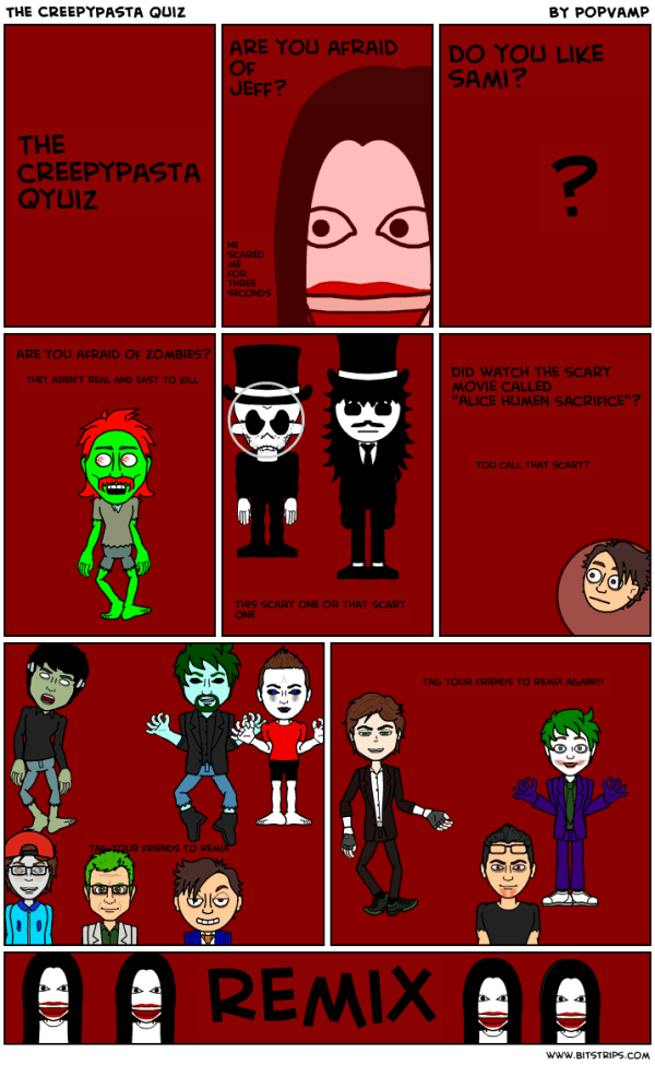 Creepypasta Quiz Which Creepypasta Are You Jeff The - MVlC