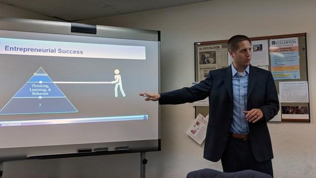 Ryan Gottfredson Four Mindsets for Entrepreneurship CSUF Startup Incubator
