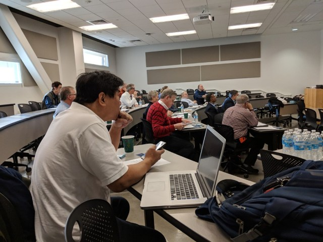 CSUF Entrepreneurship student presentations Fall 2018