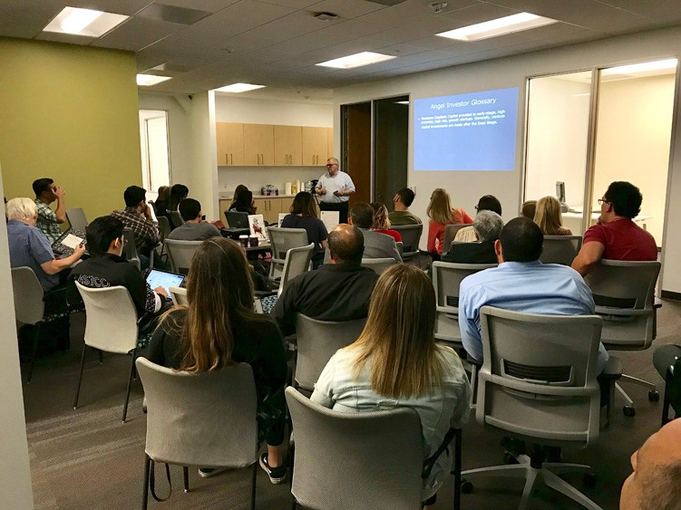 Presenting to an Investment Panel - CSUF Startup Incubator