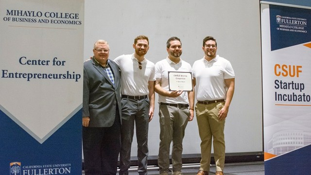CSUF Startup Competition Tomorrow's Tone