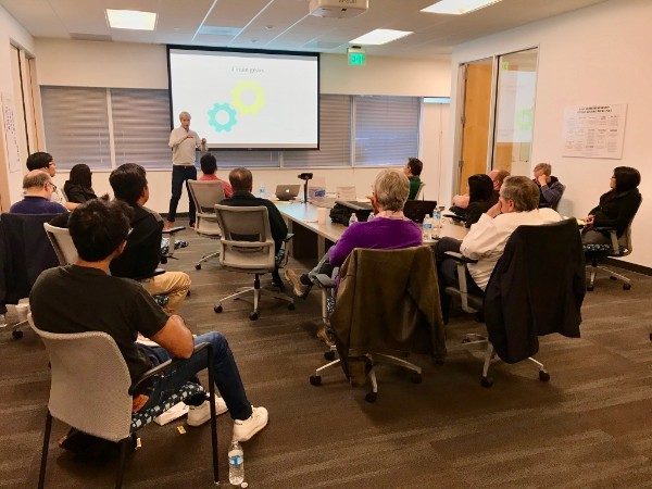 Alexis Bedoret talk at the CSUF Startup Incubator - What is the number one job of every entrepreneur?