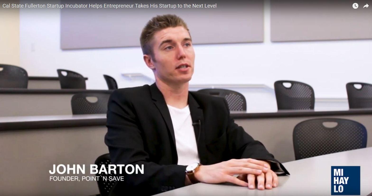 John Barton - CSUF Startup Incubator