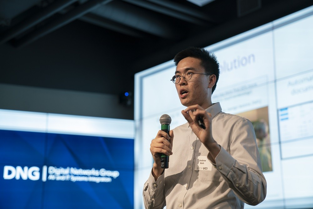 Andrew Ninh - CSUF Startup Talk with John Bradley Jackson