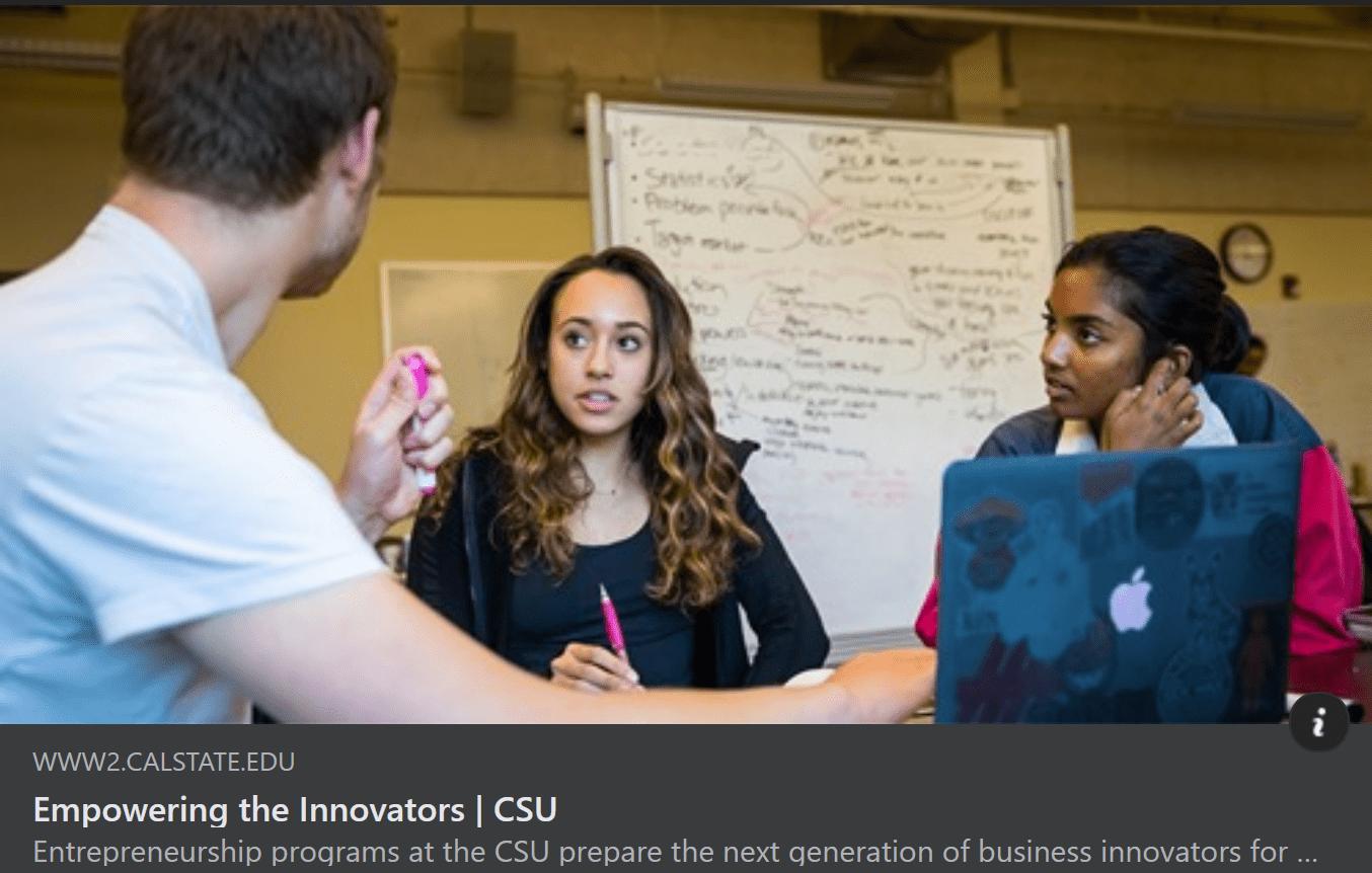 Empowering CSU Innovators