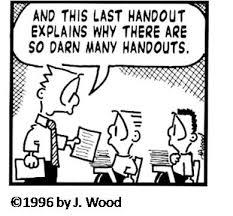 Writing Center Handouts