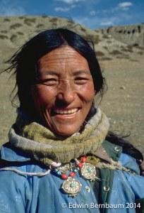 Tibetan Pilgrim, Mount Kailas, Tibet (Photo: Edwin Bernbaum).