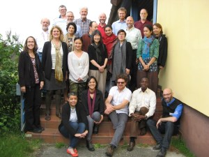 Participants of the 2017 Workshop on cultural and spiritual significance of nature in the governance and management of protected areas at International Nature Conservation Academy in Vilm, Germany.