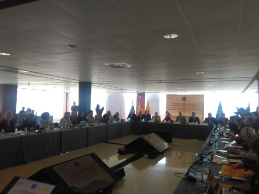 Photo of opening session of the event