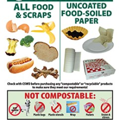 Compost Container Kitchen Ninja Brochures, Stickers, And Resources | Cswd