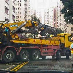 Macara pe camion Effer 2755
