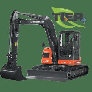 Mini excavator pe senile ES 85 SB4