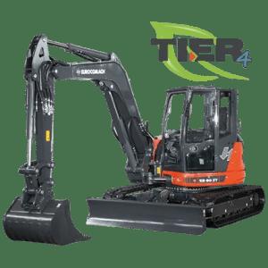 Mini excavator pe senile ES 85 ZT4