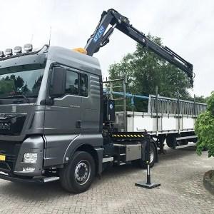 Macara pe camion Effer 145.2