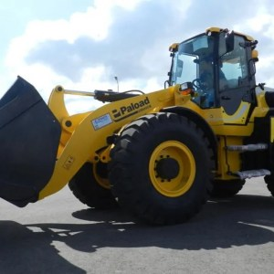 Articulated wheel loader PL 1105
