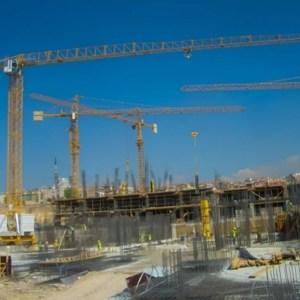 Flat top crane 1035 TLX