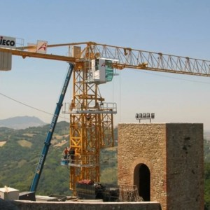 Flat top crane 1345 TLX P4P6