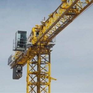 Flat top crane 1355 TLX P6