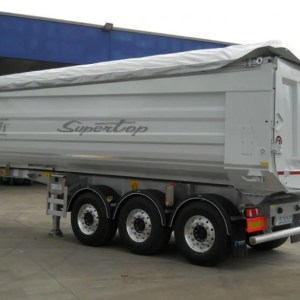 Semi - trailer with tipping body TOLENTO F1