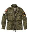 Jacke, Badges, Army-Look