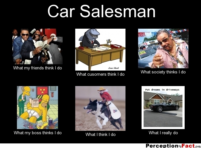Car Funny Salesman Quotes