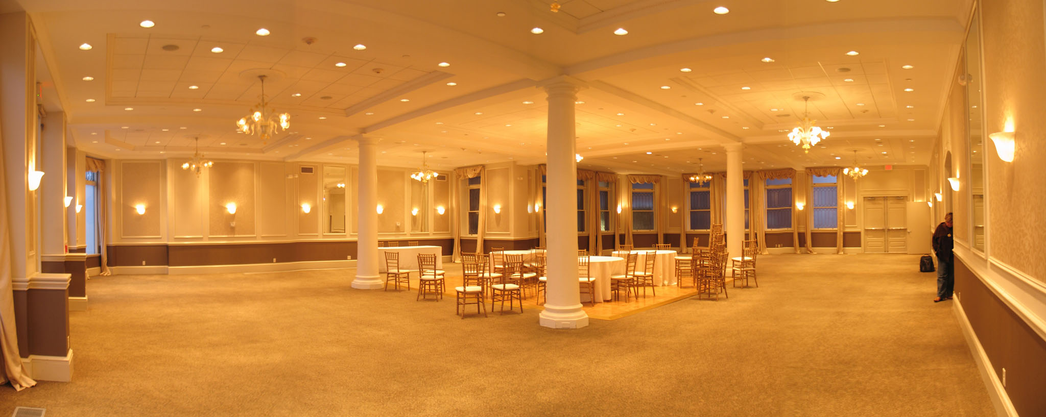 Location Photos of Crocker House Ballroom