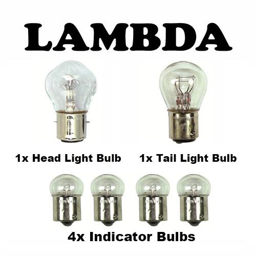 12v full bulb set CT110