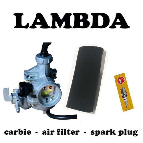 carbie air filter spark plug ct110